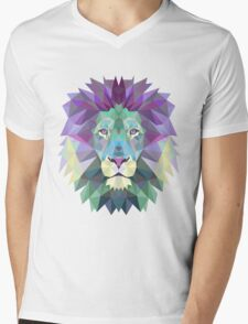 King of the Triangle  Mens V-Neck T-Shirt