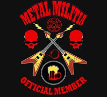 Metal Militia Colour Unisex T-Shirt