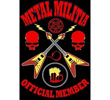 Metal Militia Colour Photographic Print