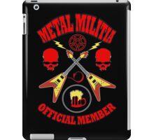 Metal Militia Colour iPad Case/Skin