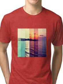 Summer waves Tri-blend T-Shirt