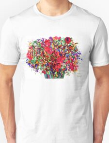 Springs Flowers Abstract Unisex T-Shirt