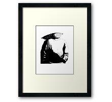 Sievehead. Framed Print