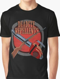 DEADITE REPELLENTS Graphic T-Shirt