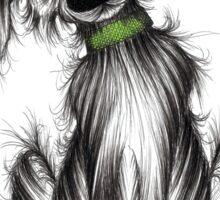Oscar the dog Sticker