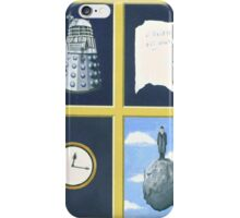 A homage to Rene Magritte. iPhone Case/Skin