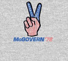 George McGovern Hand Peace Sign 1972 Presidential Campaign Classic T-Shirt