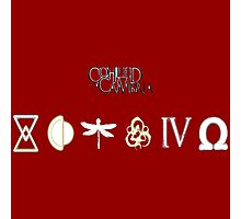 coheed and cambria all logo Photographic Print