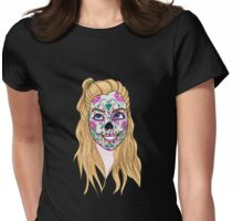Calaveras: Anne Womens Fitted T-Shirt