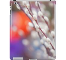 Easter Willow Branch of White Furry Catkins iPad Case/Skin