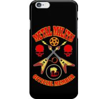 Metal Militia Colour 2 iPhone Case/Skin