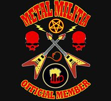 Metal Militia Colour 2 Unisex T-Shirt