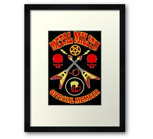 Metal Militia Colour 2 Framed Print