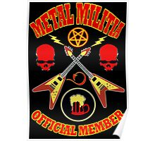 Metal Militia Colour 2 Poster