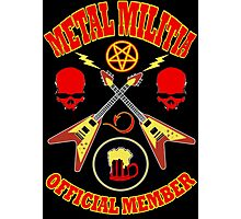 Metal Militia Colour 2 Photographic Print