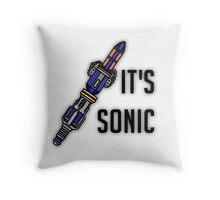 Doctor Who - It's Sonic Throw Pillow