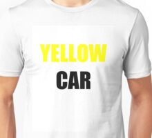 Yellow Car Unisex T-Shirt