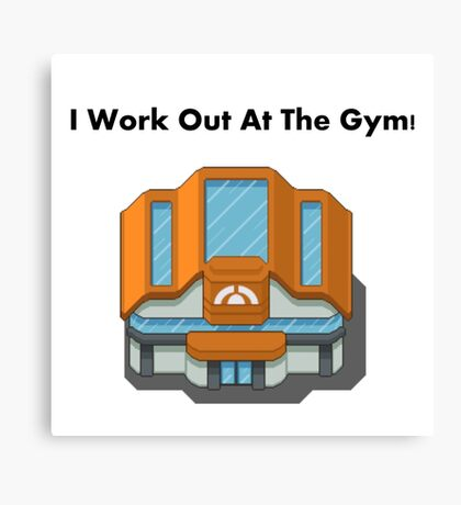 Pokemon Gym Canvas Print