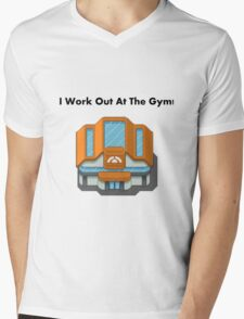 Pokemon Gym Mens V-Neck T-Shirt