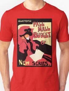 Vintage Pall Mall Budget Magazine advert London T-Shirt