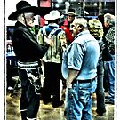 """""""Cowboys 'N' Friends""""... prints and products by © Bob Hall"""