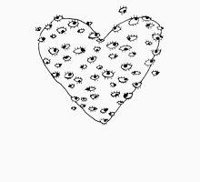 Eye Heart You B&W Unisex T-Shirt