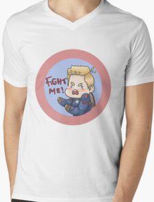 FIGHT ME!! Mens V-Neck T-Shirt