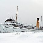 SS Keewatin in Winter White by DanByTheSea