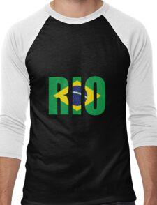 Rio. Men's Baseball ¾ T-Shirt