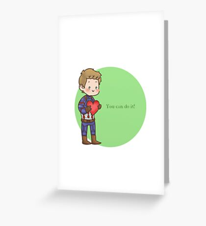 You can do it!  Greeting Card