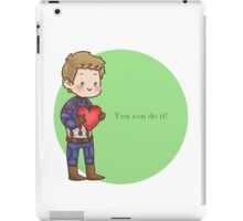 You can do it!  iPad Case/Skin