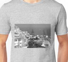 Albufeira, Algarve - B&W Unisex T-Shirt