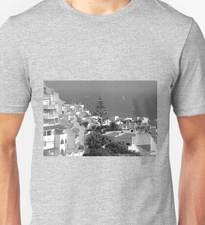 Albufeira, Algarve - B&W T-Shirt