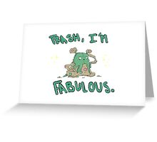 Garbodor is Fabulous Greeting Card