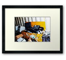At the other end of technology  Framed Print