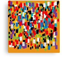 Abstract mural Canvas Print