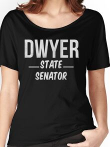 Vote Budd Dwyer for State Senator  Women's Relaxed Fit T-Shirt