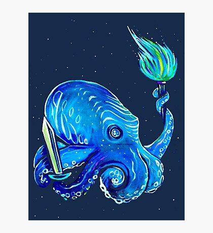 RPG Octopus Photographic Print