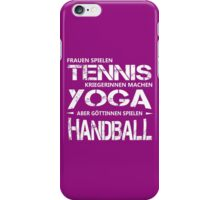 Goettinnen spielen Handball iPhone Case/Skin
