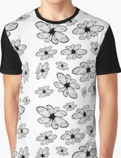 Beautiful Spring | Flowers | Pattern | Clean Simple Pattern Graphic T-Shirt