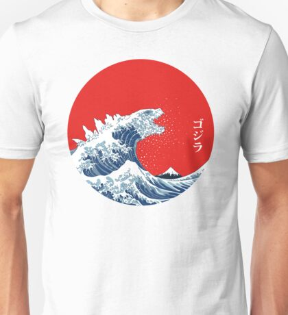 Hokusai Kaiju Unisex T-Shirt