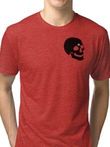 PostMortem - SKULL Tri-blend T-Shirt