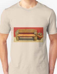 Beautiful Bench Still Life Unisex T-Shirt