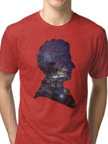 Space & Capaldi Tri-blend T-Shirt