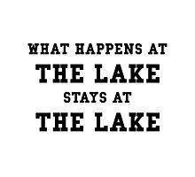 Happens At Lake Photographic Print