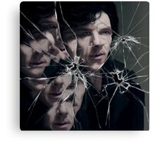 Sherlock - Broken Canvas Print