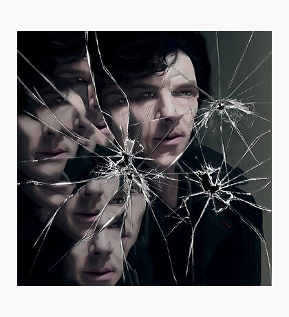 Sherlock - Broken Photographic Print