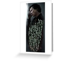 Sherlock - Hatred  Greeting Card