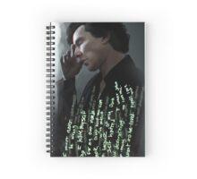 Sherlock - Hatred  Spiral Notebook