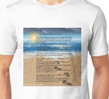 Footprints in the Sand Unisex T-Shirt